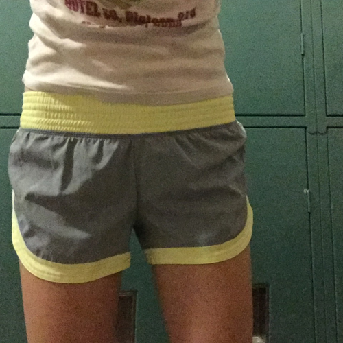 new running shorts from missy